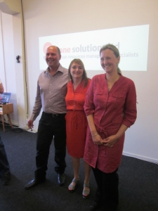 Team Sane Solutions: Jan, Tom and Jane